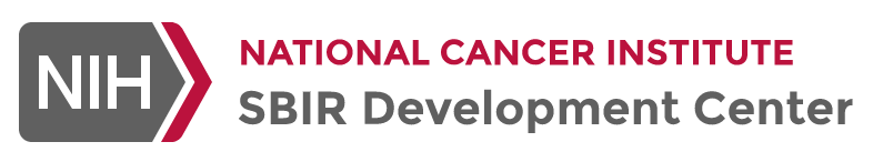 logo for NIH NCI SBIR development center